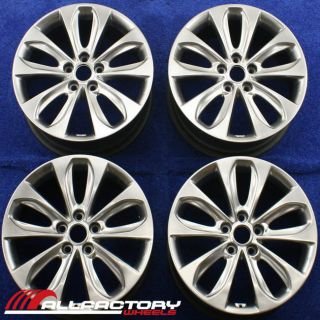 Sonata Veloster 18 2010 2011 2012 Wheels Rims Set 4 Four 70804