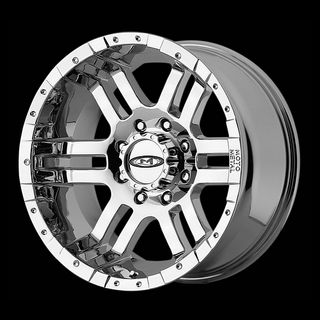 METAL CHROME WITH 33X12 50X20 FEDERAL COURAGIA MT TIRES WHEELS RIMS