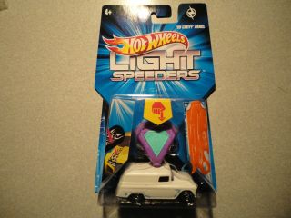Hot Wheels 2012 Light Speeders 55 Chevy Panel Van with Torch Stencil