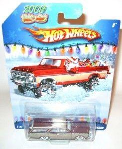 1966 Custom GTO Wagon Hot Wheels 2009 Holiday Rods RARE