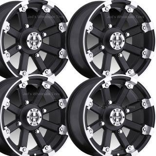 14 Rims Wheels for 2008 2013 Polaris RZR RZR s RG IRS Type 393 MBML
