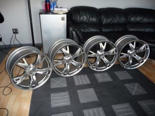 2009 Nissan 370Z 19 Wheels 5x114 3 Rays Forged Rims