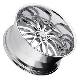22 MRR GT1 Chrome Wheels Rims Fit BMW Alpina B7 M3 2008