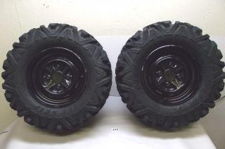 Grizzly 400 YFM400 YFM4FGW 4x4 ATV Rear Tires Wheels 2007 07