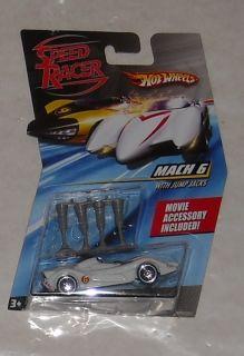2007 Mattel Hot Wheels Speed Racer Mach 6 Diecast