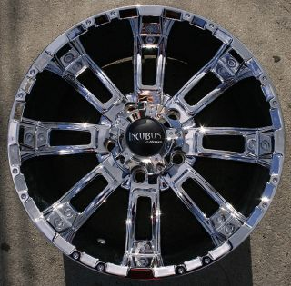 Crusher 816 20 Chrome Rims Wheels Jeep Wrangler 2007 Up 5x127