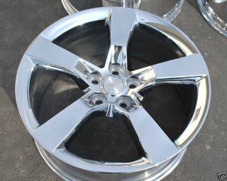 Chevy Camaro RS 2010 Chrome Rims Wheels Exchange Sale