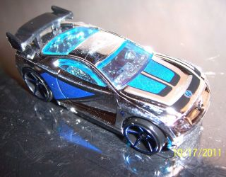 Car Show 2007 Power Rage Silver Hot Wheels Mystery Car Mint Condition