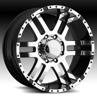 American Eagle style 079 wheels rims, 18x9, 6x5.5, superfinish/black