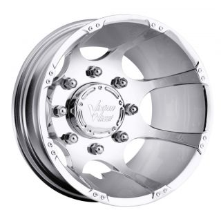 17 inch Crazy Eightz Chrome Dually Wheels 8x6 5 8x165 1