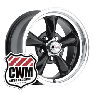 15x7 Black Wheels Rims 5x4 75 Lug Pattern for Chevy S10 Blazer 2WD