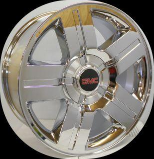 2007 2012 GMC Sierra Z71 Yukon Denali Texas Chrome 20 in Wheels