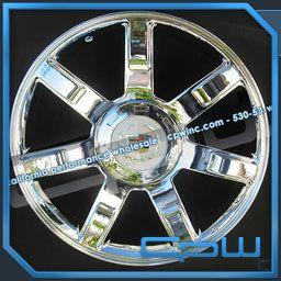 Escalade Style 24 Platinum 24 Wheels Rims ESV Ext 09 10 11