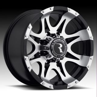 Raceline Raptor Rims Wheels 16x8 0 6x139 7 Machined Black
