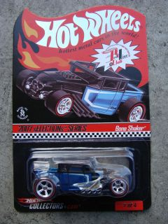 2007 Hot Wheels RLC Selections Series Bone Shaker Blue 1639 10442