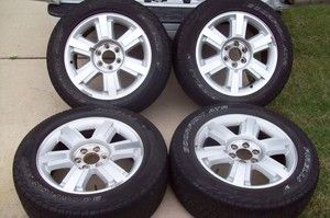 04 11 Ford F 150 20 Wheels Tires Rims F150 FX4 F150 Factory