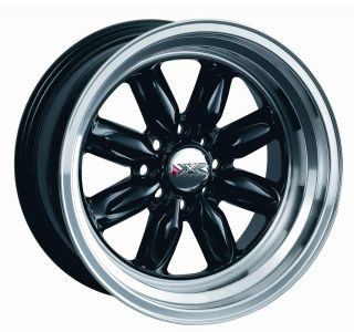 15 XXR 513 Black Rims Wheels 15x8 0 4x114 3 Corolla AE86 240sx s13 S14