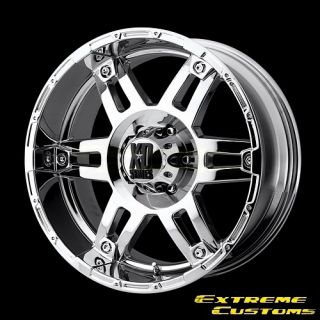 20 x8 5 XD Series XD797 Spy Chrome 5 6 8 Lugs One Single Wheel Rim