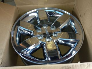 20 Sierra Yukon XL Wheel Rim Factory Polished Chrome Clad Denali 11 12