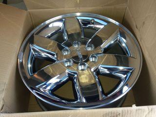 20 Sierra Yukon XL Wheel Rim Factory Polished Chrome Clad Denali 11 12