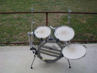 Rims Headset Portable Drum Set Kit