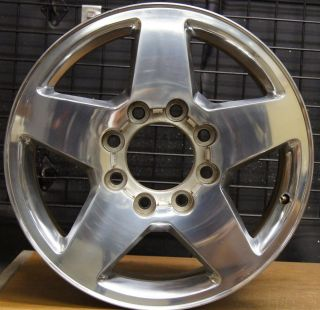 Silverado GMC Sierra HD LTZ 2500 3500 OEM 20 Wheel Rim 2011 13 5503 2