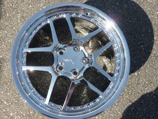 Corvette C5 ZO6 Z06 Style Chrome Motorsport Wheels Rims Set