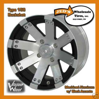 14 Aluminum WHEELs RIMs for some Polaris RZR & RZR S ATV Type 158