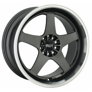 17 XXR 962 Gunmetal Rims Wheels 17x9 35 4x114 3 240sx s13 S14