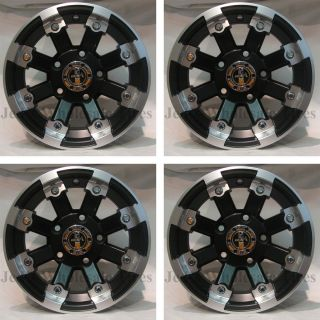 12 Type 393 MBML Aluminum Rims Wheels Fits Bush Hog Trail Hunter