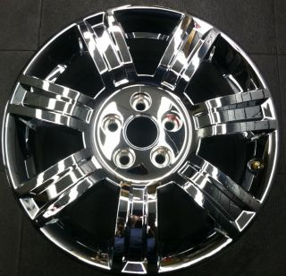 Chrome Clad Cadillac DTS 08 11 Factory Wheel Rim 4644 FPT PWG