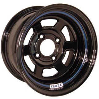 Circle Racing Wheels Series 11 Black Wheel 13x8 4x100mm 11380410500