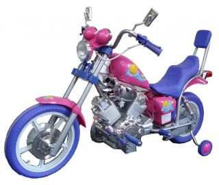 Bike Battery Power Ride on Motorcycle Harley 15 Wheels 6V