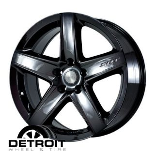 SRT8 20 Black PVD Chrome Factory Wheels Rims Alcoa Outright
