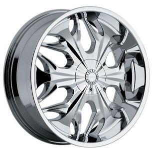 Reaper 508 5x120 BMW Camaro S10 Range Rover Chrome Wheels Rims