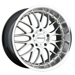 19 R10 Silver Wheels Rims Porsche 996 997 C2 GT3