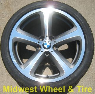 Original 19 BMW 645i 650i Wheels Rims Tires Factory Stock 71216 71217