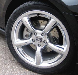 2005 2012 Saleen Mustang 19 Chrome Heritage Wheels