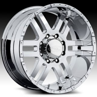 AMERICAN EAGLE WHEELS CHROME CHEVY GMC 2500 3500 FORD F250 F350 RIMS