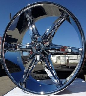 22 PW18 Wheels Rims 5x127 Chevy Impala SS Caprice 91 92 93 94 95 96
