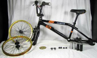 BMX Bike Frame Stolen 25T Sprocket Alien Nation Rims Parts Only
