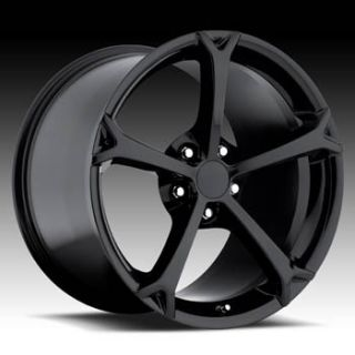 Corvette C5 Grand Sport Black Wheels Rims