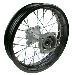 Motocross Black 12 inch SDG Rear Wheel Rim Pit Bike Fits All The Later