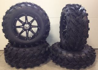 MSA Diesel 14 ATV UTV Wheels 27 Swamp Lite Tires Sportsman RZR