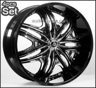 26inch Diablo Wheels Rims 300C Magnum Charger Challenger Camaro