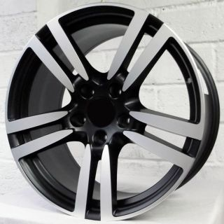 Carrera Ruf BTR 996 1998 1998 Black Polished Alloy Wheels 5x130