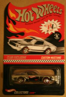 Hot Wheels 2003 RLC Red Line Club Exclusive HWC Custom Mustang 27