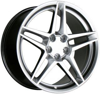 18 Staggered Wheels Rims Corvette C5 Camaro Z28 Firebird Trans Am