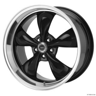 17x9 17x10 5 Black Torq Thrust M Wheels Rims 93 03 Camaro Firebird Z28