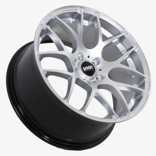 19 VMR V710 Hyper Silverl Wheels Rims Fit BMW 325i 328i 330i 335i